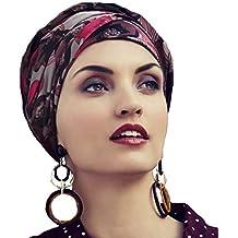 Christine Headwear Turban Pink Flower pour Femme 41a641dd311