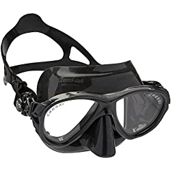 Cressi Eyes Evolution - Gafas de buceo, color negro