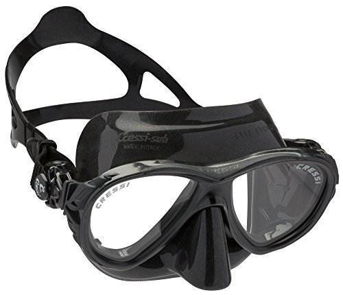 Cressi Tauchmaske Eyes Evolution Crystal, schwarz, DS355050