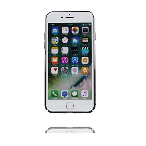 """iPhone 7 Plus Coque, TPU Durable Shell pour les filles Shell Cover Housse pour iPhone 7 Plus étui 5.5"""" Étanche à la poussière - Sirène Des écailles de poisson # 2"""