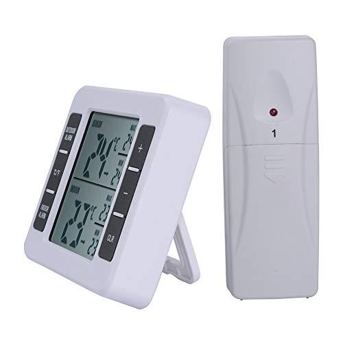 ZUZU Temperaturanzeigen, Wetter-Hygrometer, Kühlschrank-Thermometer Außenthermometer Thermometer und Wetterinstrumente