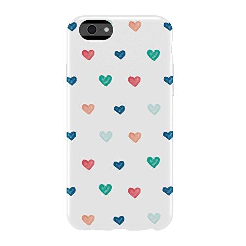 Agent18 IA112FX-350 Flex Shield Large Hand Drawn Hearts Case für Appple iPhone 6 Agent 18 Shield Iphone