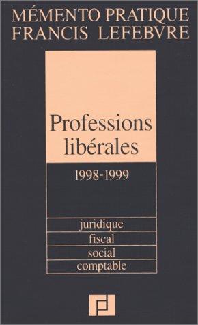 Mémento professions libérales, 1998-1999
