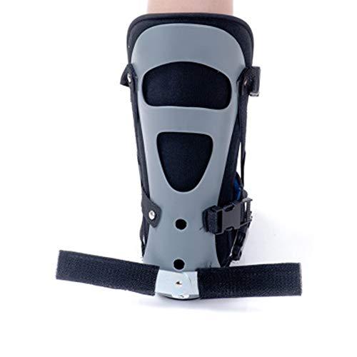 WY- SPLINTS Nachtschiene zur Behandlung von Plantarfasziitis - Brace Fußschiene, bei Fersensporn (Plantar Fasciitis), zur nächtlichen Behandlung von Plantar Fasciitis oder Achillessehnenentzündung,L - Knöchel-verletzung Behandlung