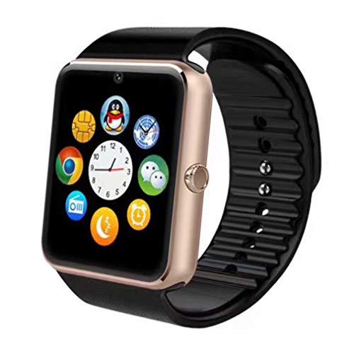 a6e4f5485 Smartwatches, Reloj Inteligente Android con Ranura para Tarjeta SIM,  Pulsera Actividad Inteligente para Deporte