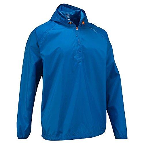 Quechua Rain Cut Jacket, Extra Small (Blue)