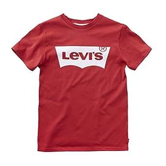 Levi's NOS N91004H T-Shirt per Bambini e Ragazzi, Colore Rosso (Red), Taglia 2 Anni