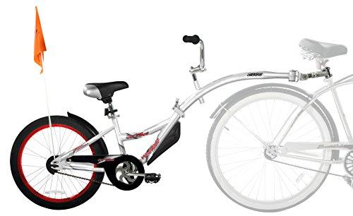 WeeRide Remorque pour vélo Argent Argent 50,8 cm