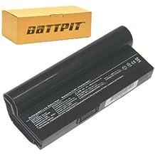 Battpit Batteria per notebook Asus Eee PC 1000-BK003 Eee PC 1000 40G - Pearl White Eee PC 1000 Series Eee PC 1000 Eee PC 1000 40G - Fine Ebony (7.4V 6600mAh / 49Wh) [1 anno di garanzia]