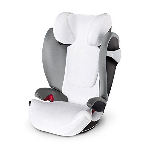 Cybex 515402101 Pallas M-Fix/Solution M-Fix Rivestimento Estivo Bianco
