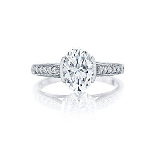 Ryan Jonathan Anello in platino con diamante certificato GIA (2,20cttw, F/VS), platino, 58 (18.5), cod. C2755DW:Plat