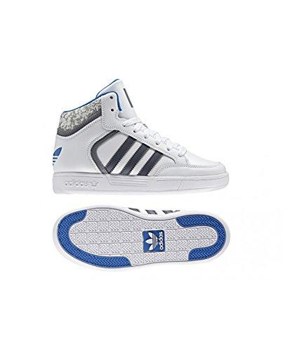 adidas  Varial Mid J, chaussure de sport Unisexe - enfant Blanc