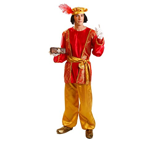 Imagen de disfraz de paje del rey gaspar para hombre