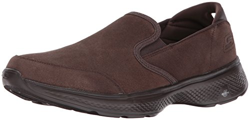 Skechers Sovradimensionati - Slipper Go Walk 4 54173 - Cioccolato Tpe