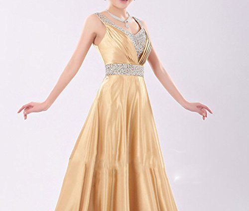 SHJJK Braut Hochzeit Toast Kleidung Abendkleid Kostüme Schultern V-Ausschnitt Langen ()