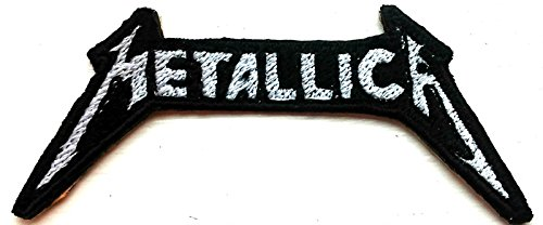 # 115Metallica American Heavy Metal Band (weiß) Eisen auf Sew auf bestickt Patch (Jeans Custom Jacke)