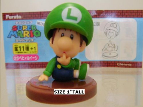 Furuta SUPER MARIO MINI FIGUREN BABY LUIGI (2.5 CM Mini Figure)