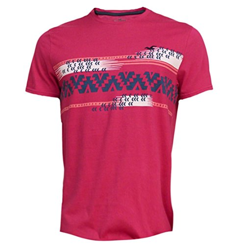 hollister-herren-patterned-slim-fit-jersey-t-shirt-t-shirt-grosse-l-pink-622391819