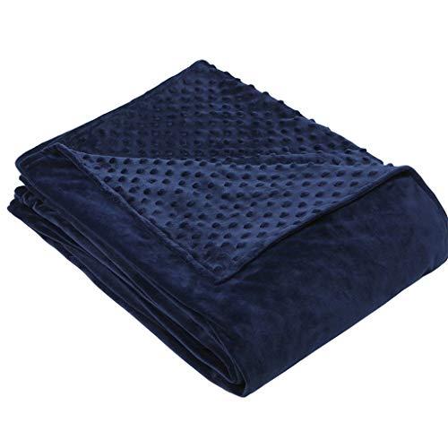 FeiliandaJJ 93x124cm Bettbezüge Kinder Entfernbar Bettdeckenbezug Klimaanlage Decke Super Weiche Warmer Komfort Atmungsaktive Hypoallergen (Marine) -