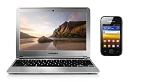 "Samsung Chromebook 11,6"" + Galaxy Y Noir"