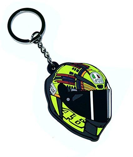 Valentino Rossi 46 casco Oficial llavero, Moto GP