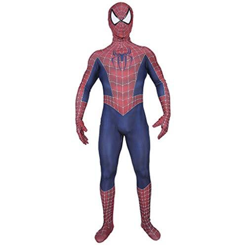 g Anime Film Halloween Kostüm Alten Remy Spider-Man Erwachsenen Cosplay Overall Bühnenspiel Kleidung (Color : A, Size : XL) ()