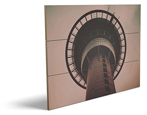 Bilder Teufel Männliche Kostüm (Turm, qualitatives MDF-Holzbild im Drei-Brett-Design mit hochwertigem und ökologischem UV-Druck Format: 80x60cm, hervorragend als Wanddekoration für Ihr Büro oder Zimmer, ein Hingucker, kein Leinwand-Bild oder)