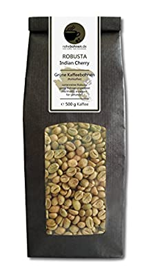 Green coffee beans Robusta Indian Cherry (raw coffee beans) from Rohebohnen