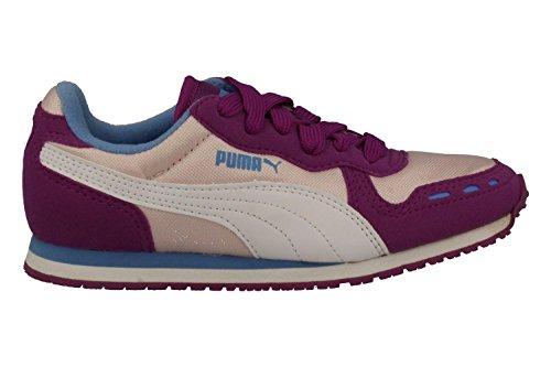 PURPLE BASKETS PUMA 356372-17 Violet