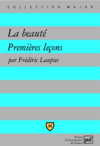 La beauté par Frédéric Laupies
