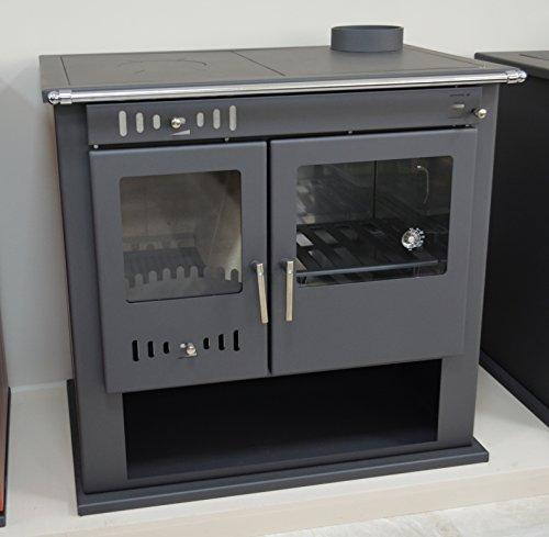Holz-Ofen Herd System Kamin für Ofen Kochen Integral Boiler Thermo Discharger festbrennstoffen betriebenen 9kW - Wasser-ofen-system