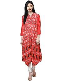 Akkriti By Pantaloons Women's Rayon A-Line Tunic