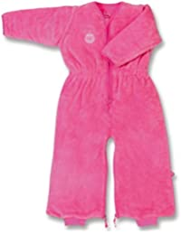 Little Helper Baby Boum Terry Cotton Summer Sleeping Bag (24 -60 m, 1.0 Tog, Hot Pink )