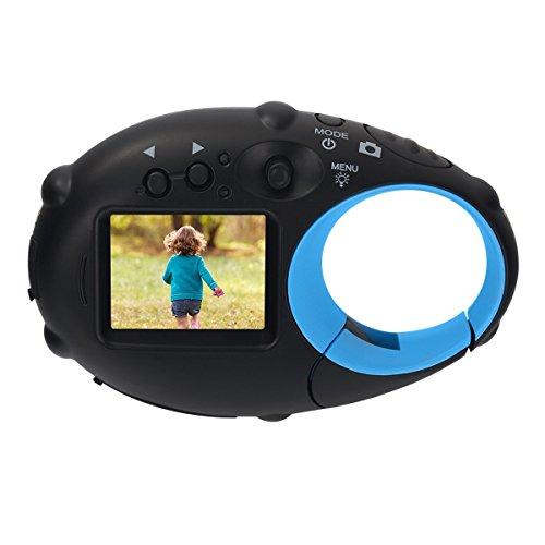 Funkprofi Mini Kinder Kamera ab 3 Jahre, Digitalkamera für Kinder Kids Photo Camera Action Camcorder Kompakt Kamera 1280P Video 500 Millionen Pixel 1,5-Zoll-Farbbildschirm