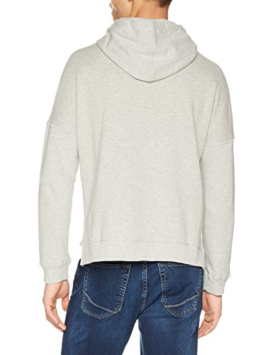 H.I.S Damen Sweatshirt Grau (Light Grey Melange 8019)
