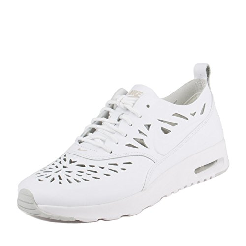 Nike W Air Max Thea Joli, chaussures de sport femme - Blanc Cassé - Bianco (Blanco (White / White-Grey Mist-Gry Mist)), 35 1/2 EU