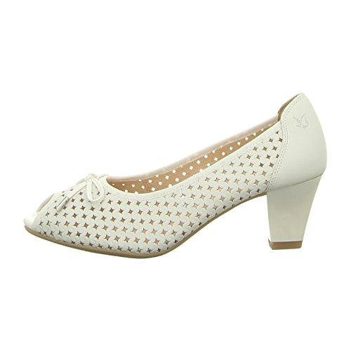 Caprice Da.-Flamenco Größe 39 Weiß (white nappa)