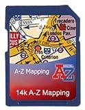Satmap-carte gPS - 1:14 000 (12) grande bretagne A-Z Bristol & Bath 1:14000