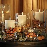 Impresionante floreros con velas y tuercas 5 - Tabla de selección impresionante de mesa para...