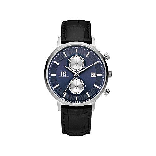 DANISH DESIGN Reloj Analógico para Hombre de Cuarzo con Correa en Cuero IQ22Q1215
