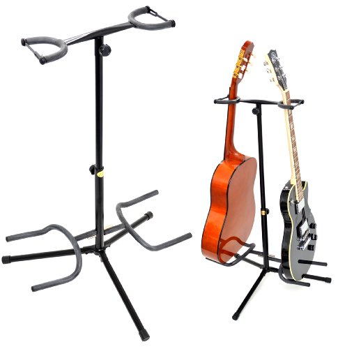 TS-Ideen Double stand pour guitare acous...