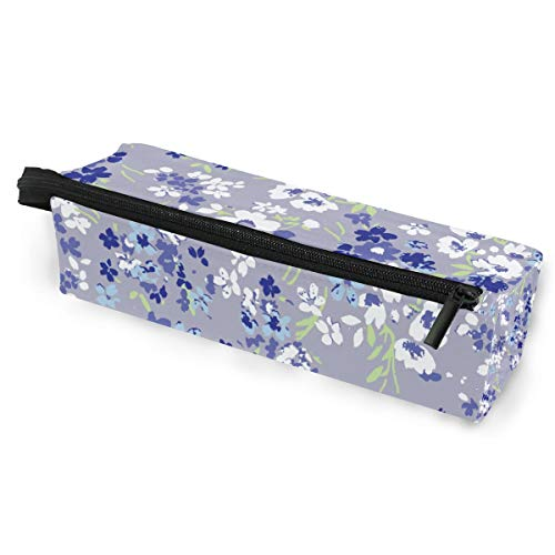 Pencil Bag Pen Case Pouch Beautiful Cute Flower Makeup Cosmetic Sunglasses for Girls Boys Travel School