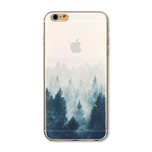 Coque iPhone 7 Plus Housse étui-Case Transparent Liquid Crystal en TPU Silicone Clair,Protection Ultra Mince Premium,Coque Prime pour iPhone 7 Plus-Paysage-style 15 19