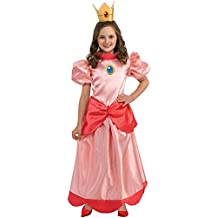 Aptafêtes–cs889557/L–Disfraz infantil Princesa–Peach–Talla L–142/152