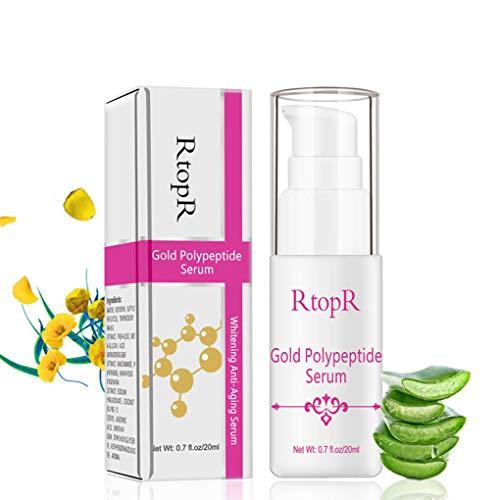 F-blue Gold Polypeptid Anti-Aging-Hyaluronsäure Whitening Serum Argireline Repair Hautpflege Anti-Falten-Essenz Gesicht