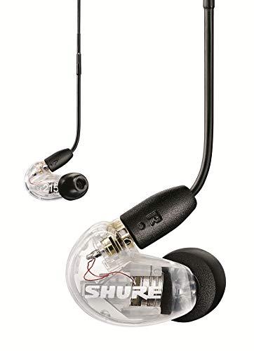 Shure SE215 In Ear Kopfhörer mit Sound Isolating Technologie, 3, 5-mm-Kabel, Fernbedienung und Mikrofon - Premium Ohrhörer mit warmem & detailreichem Klang - Klar thumbnail