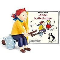 tonies Hörfigur Anne Kaffeekanne für die Toniebox: 12 Lieder zum Singen, Spielen und Tanzen