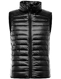 7a861a1b89cb0c uirend Herren Westen Daunen Warm - Herren Mode Weste Ärmellos Outwear Stepp  Zipper Jacken Winter Herbst