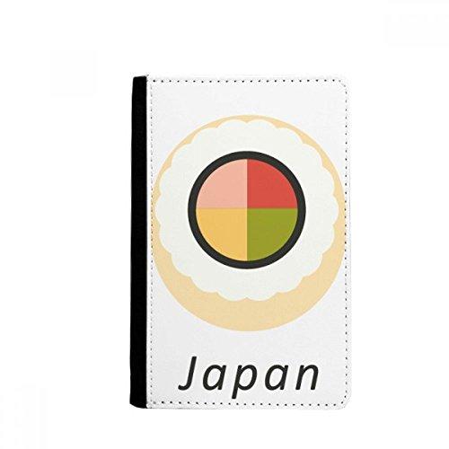 Beatchong tradizionale giapponese maki sushi supporto del passaporto di viaggio della borsa del raccoglitore della carta della copertura della cassa