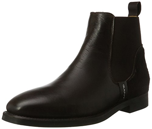GANT Damen Jennifer Chelsea Boots Braun (Dark Brown)
